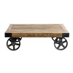 Coffee table on wheels by bell amp blue notonthehighstreet com