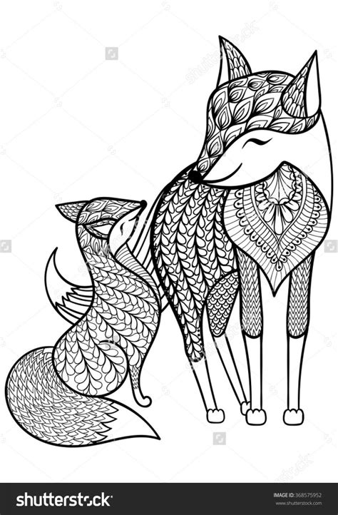 coloring pages for adults fox coloring pages fox coloring pages coloring pages