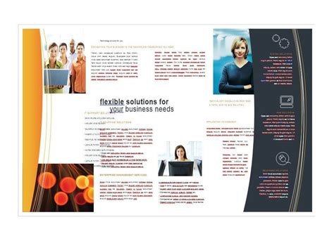 free brochure template word 11x17 brochure template word free templates resume