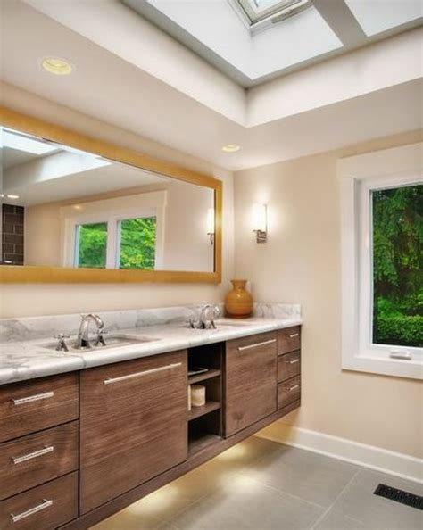 how to take advantage of floating vanities to make