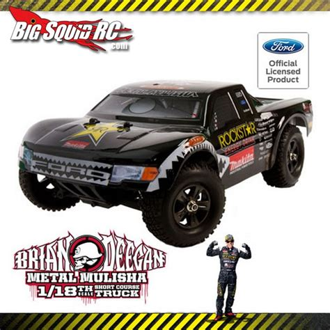 Brian Deegan Metal Mulisha New by New Atomik Rc Brian Deegan 18th Scale Course Truck