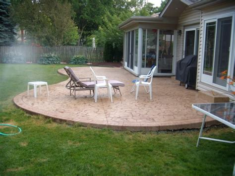 How To Install A Concrete Patio by Concrete Patios Call 704 323 5775