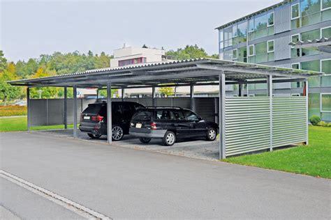 Autounterstand Schweiz by Carport Autounterstand Carport Fl 252 Ela Typ Aabd Typ Aab