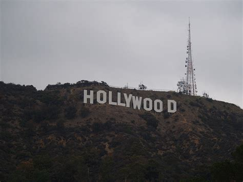 hollywood sign radio tower the hollywood sign with radio tower flickr photo sharing