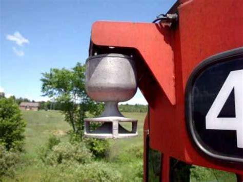 Electric Bell locomotive brass bell vs electric bell