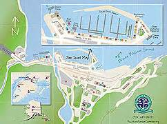 Whittier Alaska Map by Whittier Alaska Chamber Of Commerce