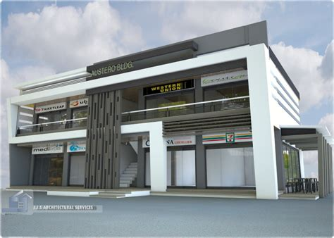 2 storey commercial building floor plan 2 storey 8 units commercial building by j j s