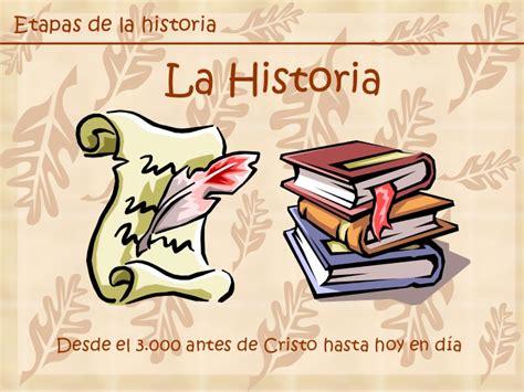 imagenes epicas de la historia etapas de la historia