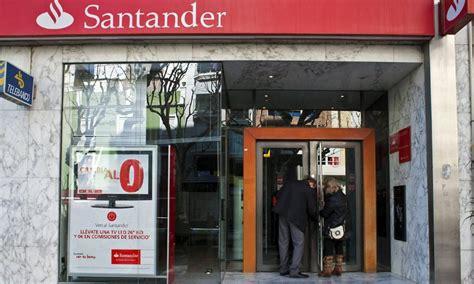 trabajar en banco santander empleos de banco santander argentina formulas para