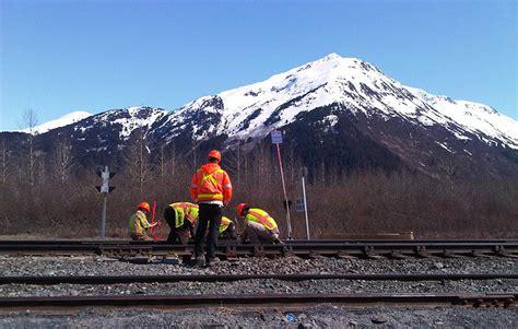 positive train control system  alaska railroad burns