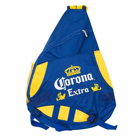 corona blue sling bag