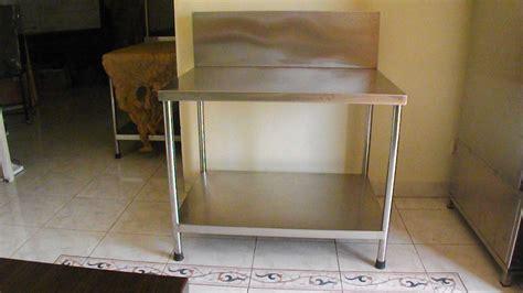 Meja Kompor Stainless Steel Custom meja kompor gas stainless murah