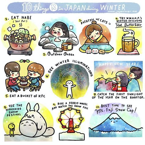 10 Things To Do With In Winter by 10 Things To Do In Japan During Winter Japan Lover Me