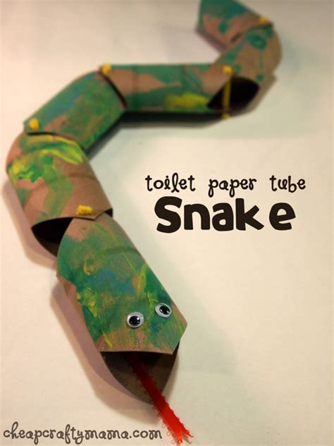 Paper Snake Craft - craftaholics anonymous 174 toilet paper roll crafts