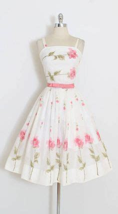haskell pattern matching xs garden confection vintage 1950s dress vintage cocktail