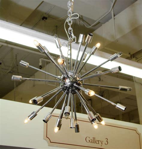 sputnik chandelier midcentury chrome sputnik chandelier at 1stdibs