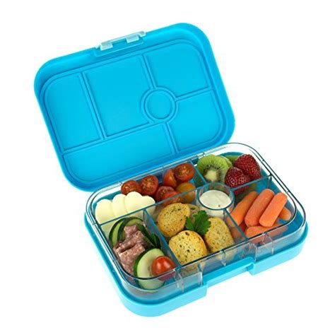 Top Seller Lunch Box Kotak Makan Bento Box Tempat Makan Sekat 4 yumbox leakproof bento lunch box container gelato blue for get4school
