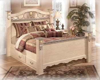 sanibel bedroom furniture sanibel b290 bedroom set signature design by