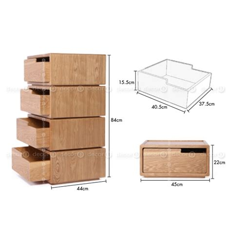 Stackable Drawers Wood by Pommi Modular Stackable Wood Drawer Set Of Three Black