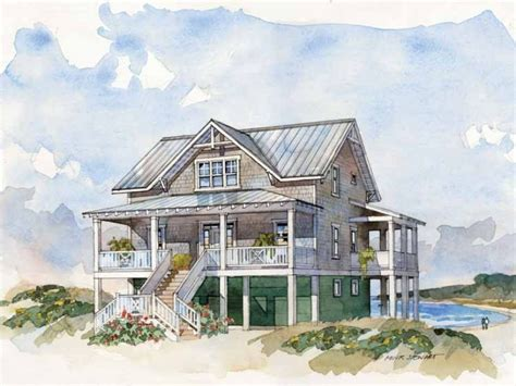 coastal homes plans raised beach house floor plans house design plans