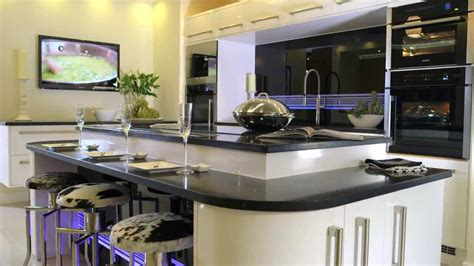 Stunning Fitted Kitchens From Betta Living | betta living new york hi gloss black fitted kitchen youtube