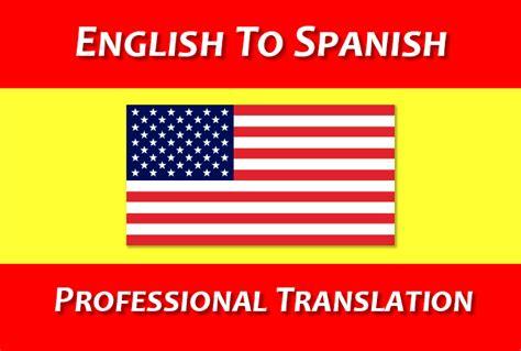 fit in spanish english to spanish translation create a professional english to spanish translatio