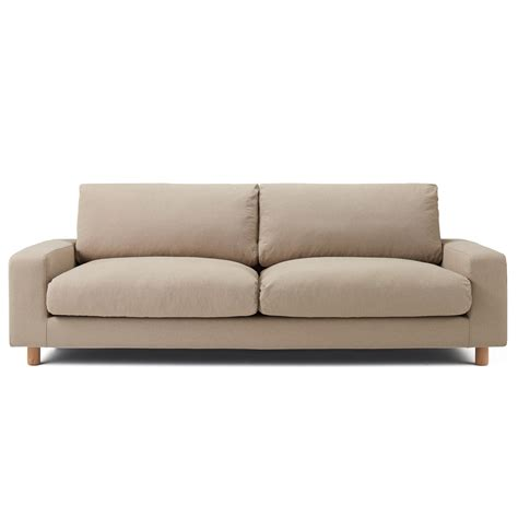 wide couch cotton cover for sofa wide arm down 3s be 3seater muji