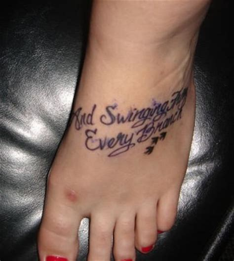 new tattoo on foot care foot tattoos page 12