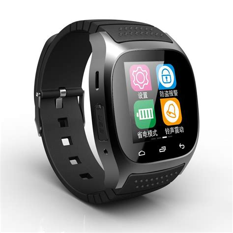 smart for android phone sports smart bluetooth m26 luxury wrist with sms remind - Android Watches For