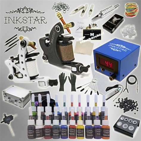 inkstar tattoo kit kit inkstar journeyman kit 20 truecolor ink