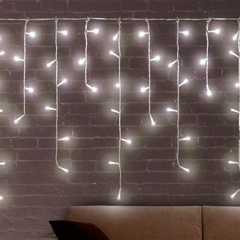white icicle christmas lights 200 led buy at wholesale