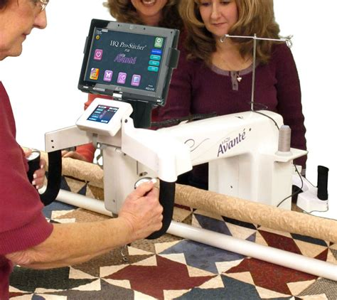 Avante Quilting Machine For Sale by Hq 18 Avante Arm Quilter W Pro Stitcher And 12ft Frame