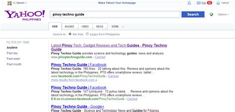 Yahoo Search Yahoo Search Gets A Cleaner Design Works Faster And No