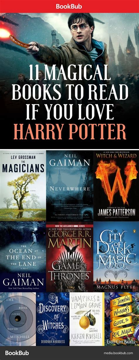 7 Reasons Harry Potter Books by Books To Read If You Harry Potter Reading Lists