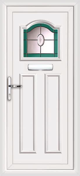 Front Doors Glasgow Upvc Front Door Stained Glass
