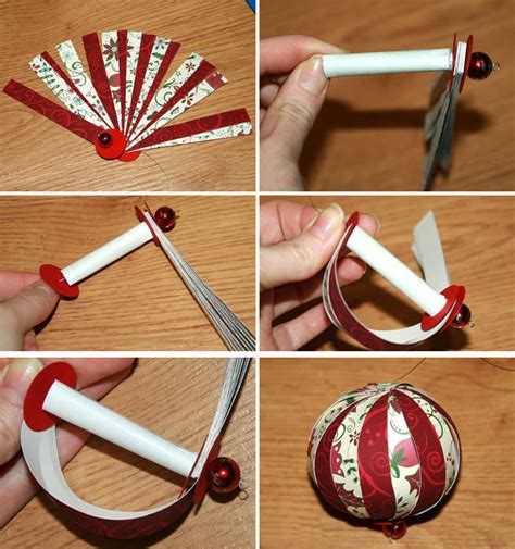 How To Make Easy Paper Ornaments - tree ornaments 20 easy diy ideas
