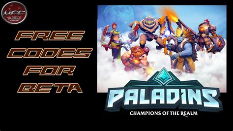Paladins Giveaway Codes - paladins free closed beta codes xbox one ps4 giveaway team ucc youtube