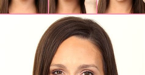 make up small foreheads the trick for making your forehead look smaller makeup