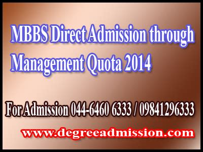 Direct Admission In Mba Through Management Quota by Mbbs Admission In India Direct Admission In Mbbs 2014