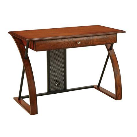 Computer Desk Home Depot Ospdesigns Medium Oak Desk Ar2544r The Home Depot