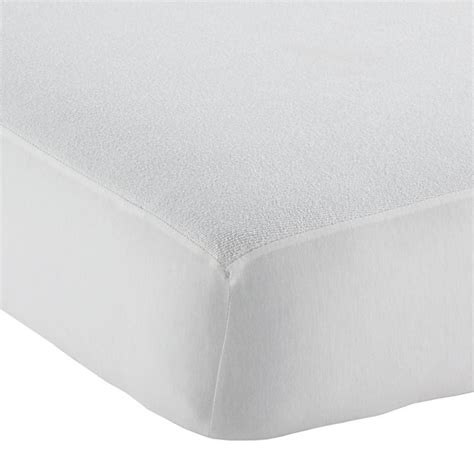 waterproof crib mattress waterproof crib mattress pad the land of nod