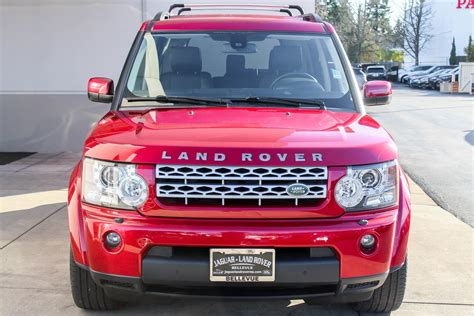 certified pre owned land rover certified pre owned 2013 land rover lr4 sport utility