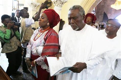 funeral of nigerian actors photos nollywood actress joke silva s late mother s