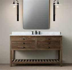 Bathroom Sink Ideas waschtisch aus holz und andere rustikale badezimmer ideen