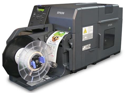 Harga Printer Label Epson by Epson Colorworks C7500g Inkjet Label Printer