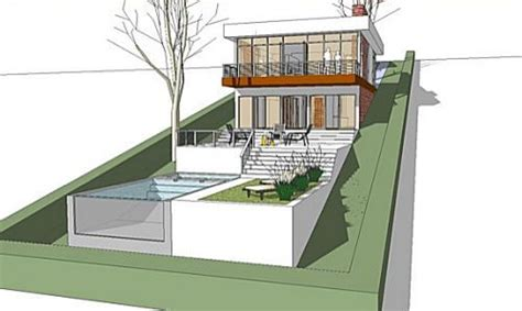 slope house plans steep slope house plans sloped lot house plans with