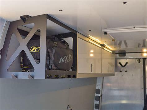 Hauler Garage Storage Ideas Sprinter Rv Heavy Duty Diy Sprinter Bike Hauler