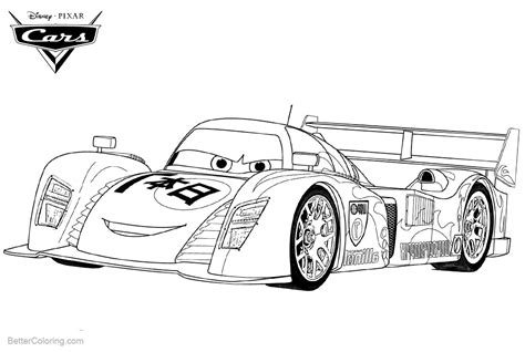 Cars 2 Coloring Pages by Cars 2 Pixar Coloring Pages Lightning Mcqueen Free