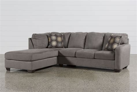 Where To Buy Sectional Sofa Zella Charcoal 2 Sectional W Laf Chaise Living Spaces