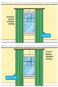Properly Hang Curtains Decorating Hanging Curtains For The Home